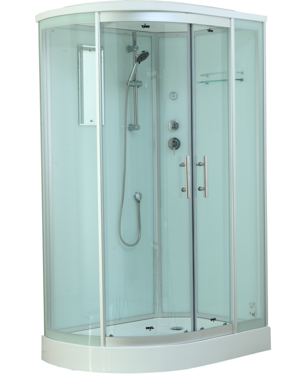 Timo Standart T-6602 Silver R душевая кабина (120*85*220), шт