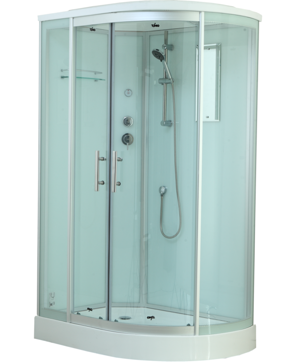 Timo Standart T-6602 Silver L душевая кабина (120*85*220), шт