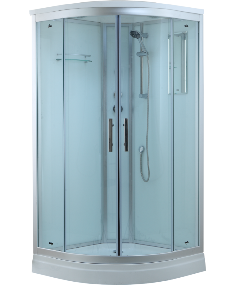Timo Standart T-6609 Silver душевая кабина (90*90*220), шт